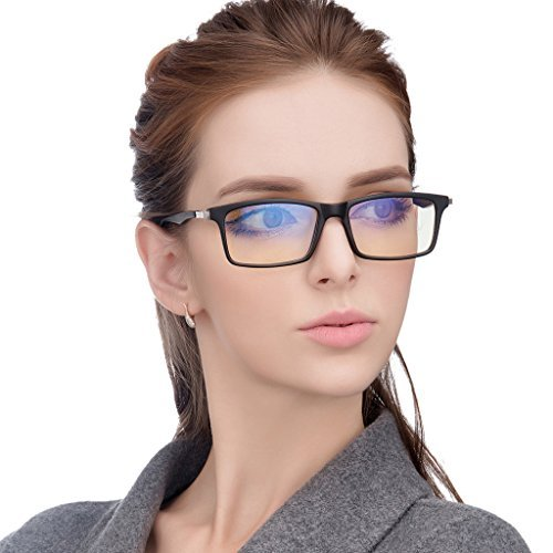 Jimmy Orange Anti Glare Tinted Womens Blue Light Blocking