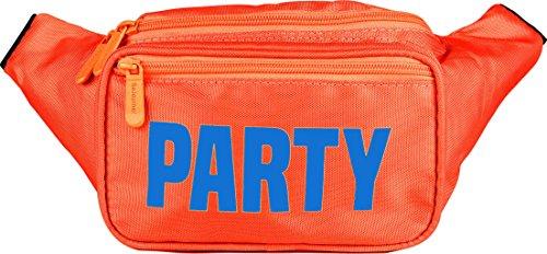 Sojourner Orange Party Fanny Pack Neon Packs For Men Women Cute Waist Bag Fashion Belt Bags