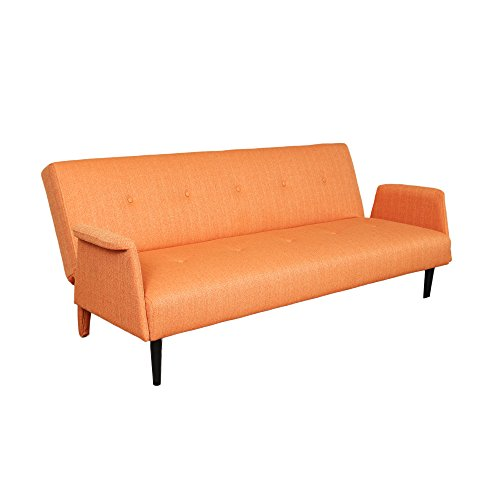 Mid Century Modern Sofa Bed: Porter Designs SWU1173A Naomi Mid-Century Modern Sofa Bed