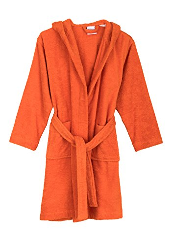 Towelselections Big Boys Robe Kids Hooded Cotton Terry